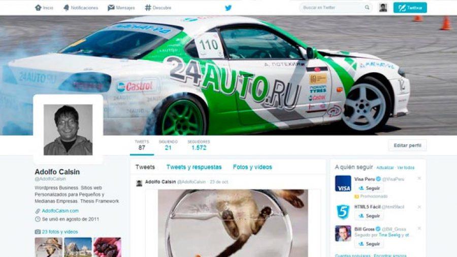 nueva apariencia twitter 2014