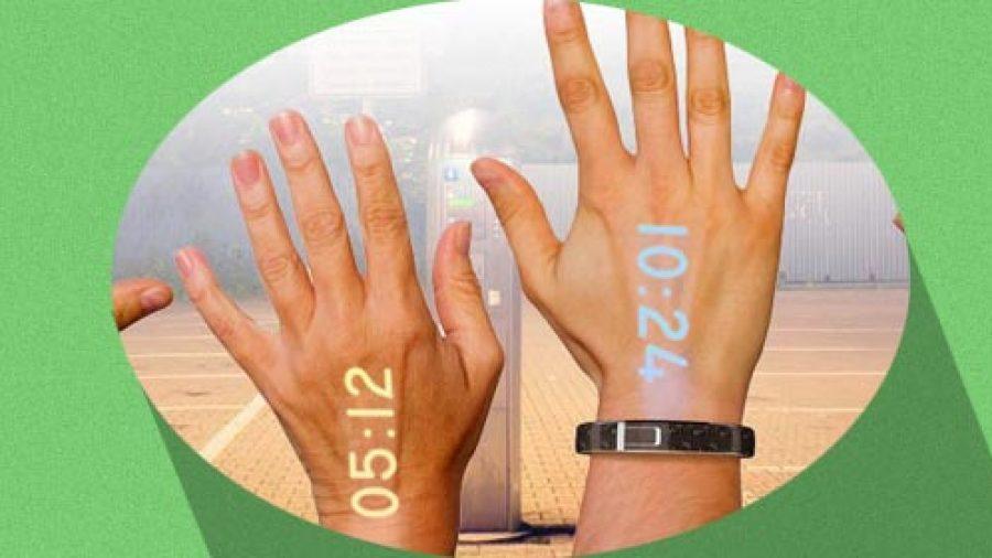 Tu mano como pantalla con este reloj de pulsera – Noticias de Tecnologia